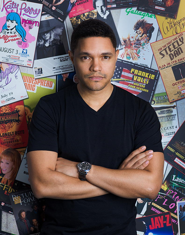 Trevor Noah photographed by Paul Mobley